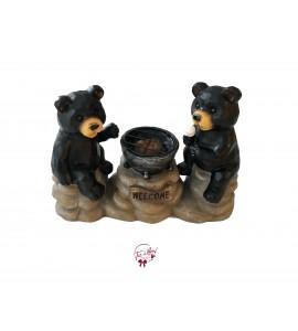 Bears Roasting Marshmallows