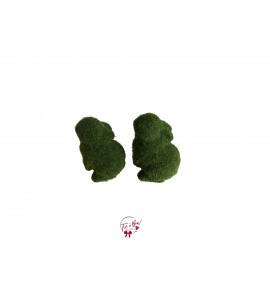 Bunny: Mini Moss Bunny Seating Up Set of 2