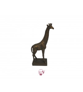 Giraffe With Golden Accent
