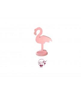 Flamingo: Baby Pink Flamingo Keyhole Silhouette