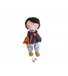 Doll: Brunet Boy