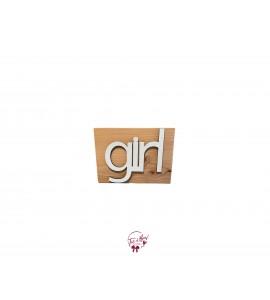Girl Word Rustic