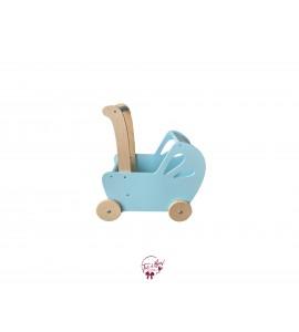 Light Blue Doll Stroller