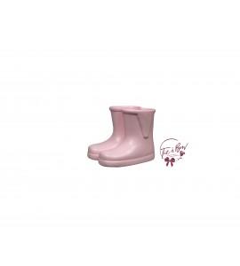 Rain Boots: Mini Baby Pink