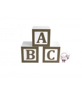 ABC Risers  - Set of 3