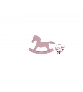 Rocking Horse: Baby Pink