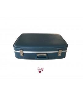 Suitcase: Blue Vintage Suitcase (Large)
