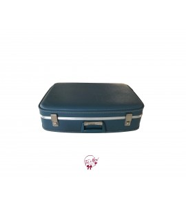 Suitcase: Blue Vintage Suitcase (Medium)