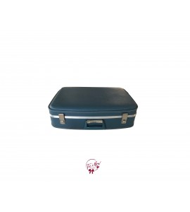 Suitcase: Blue Vintage Suitcase (Small)