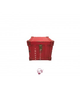 Trunk: Container Look Red Trunk (Small)