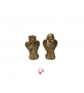 Golden Boy and Girl Angels Set of 2