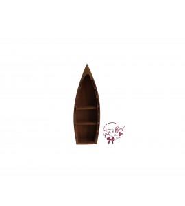 Boat: Wood Small Rustic Boat