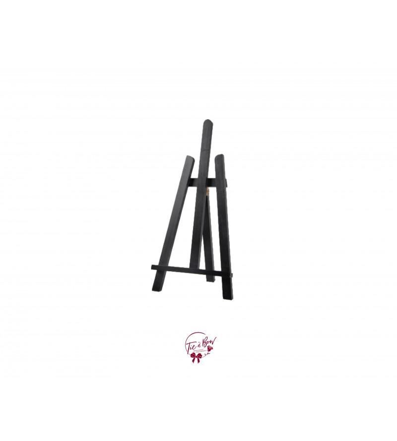 Easel: Black Tabletop Easel