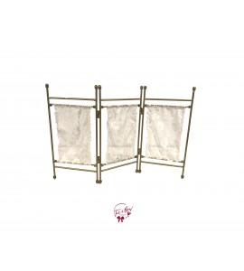 Lace Privacy Screen Miniature (Tabletop)