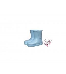 Rain Boots: Mini Light Blue