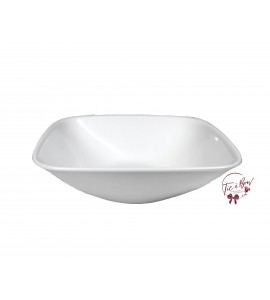 White: White 9 Inches Wide Large Bowl