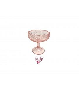 Pink: Rose Pink Footed Bowl