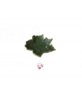 Green: Sage Green Leaf Shaped Bowl