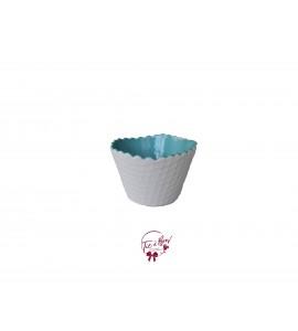 Bowl: Light Blue Ice Cream Waffle Bowl
