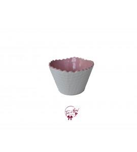 Bowl: Baby Pink Ice Cream Waffle Bowl