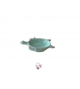 Green: Mint Green Turtle Bowl