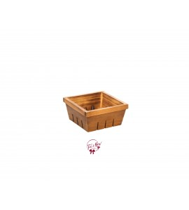 Wood Pint Box Bowl