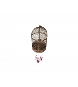 Bird Cage: Brown Bird Cage