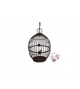 Bird Cage: Rusty Bird Cage