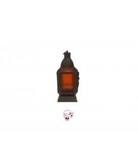 Lantern: Brown and Orange Medium Lantern