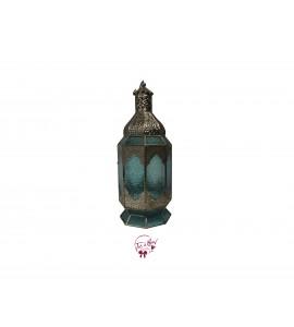 Lantern - Silver and Blue Large Lantern