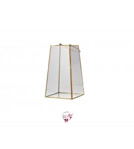 Lantern: Golden Glass Lantern