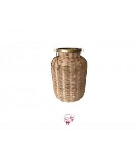 Lantern: Rattan Golden Lantern