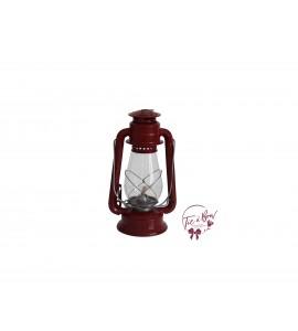 Lantern: Red Vintage Oil Lantern