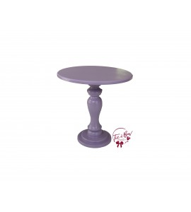 Lavender Cake Stand: 10 Inches Wide x 10 Inches Tall