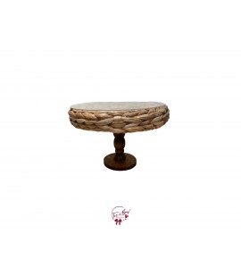 "Hyacinth Florence Cake Stand (Large): W12"" x H8.75"""