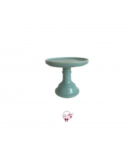 Blue: Paradise Blue Cake Stand: 6.25 Inches Wide x 5.25 Inches Tall
