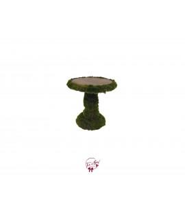 "Moss Cake Stand (Medium):  7""W x  8.5""H"