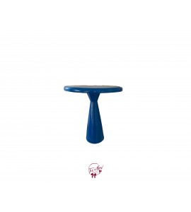 """Blue: Royal Blue Hourglass Cake Stand (Tall): 8""""W x 8""""H"""