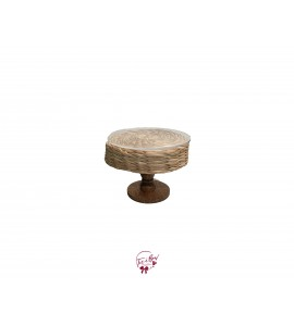 """Hyacinth Florence Cake Stand (Small): W8.75"""" x H6.75"""" Tall"""
