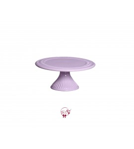 Lavender Cake Stand: 9 Inches Wide x 4 Inches Tall