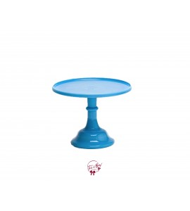 Blue: Robin Egg Blue Cake Stand: 9 Inches Wide x 7 Inches Tall