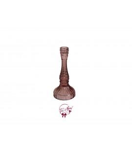 Candle Holder: Vintage Pink Candle Holder