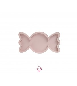 Light Pink: Candy Shaped Light Pink Tray