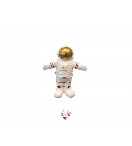 Astronaut with Opened Arms (Gold)