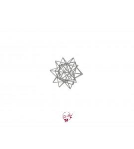 Star - Geometric Star (Silver)