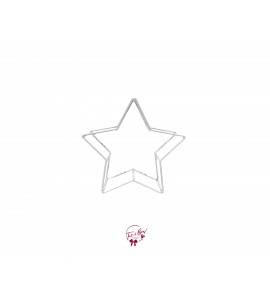 Star: Metal Frame White Star 1
