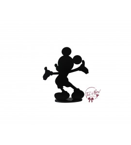 Black Mickey Silhouette