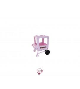 Circus: Light Pink Popcorn Cart (Miniature)