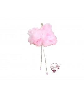Ballerina: Light Pink Feather Ballerina (Seated)