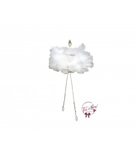 Ballerina: White Feather Ballerina (Seated)